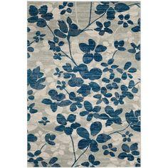 Safavieh Evoke Grey/ Light Blue Rug (6'7 x 9'); overstock: $164.49
