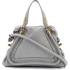 CHLOE Paraty medium shoulder bag (Cashmere grey)