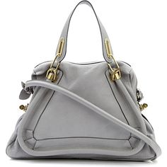 CHLOE Paraty medium shoulder bag (Cashmere grey)