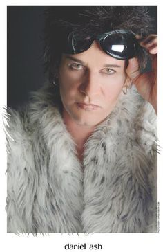The exotic and elegant Daniel Ash... all the gorgeous music.