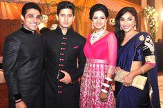 Ravi Dubey Wedding Reception Stills