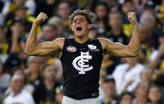 CARLTON has been dealt a double blow, with young guns Charlie Curnow and Caleb Marchbank ruled out of Saturday night's meeting with Adelaide at Adelaide Oval b Carlton Afl, Carlton Football Club, Ankle Injuries, Sprained Ankle, Young Guns, Future Husband, My Boys, Numbers, Tank Man