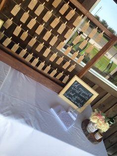Seating Chart! ☺️ #DIY #SpringWedding  #HappilyEverDomke #RoseBankWinery
