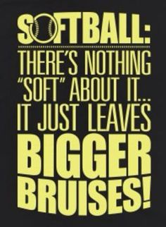 Somehow I ended my season with just a couple small bruises. But this is sooo true!!