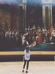 At the Louvre Museum in Paris France Adventure Is Out There, Oeuvre D'art, Life Is Beautiful, Art Museum, Character Inspiration, Life Is Good, Art Photography, Louvre, Artsy