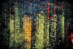 "Lights of New York, 1970 - by Enrst Haas. ""I want to be remembered much more for a total vision than for a few perfect single picture."" - Ernst Haas"