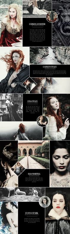 You have courage. Not battle courage perhaps but… I don't know, a kind of woman's courage. #asoiaf