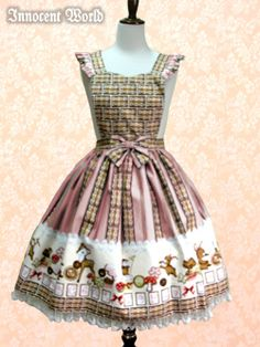 Icing Cookie Apron Skirt