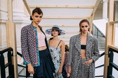 The Best Backstage Photos From The AW21 Couture Shows In Paris | British Vogue Armani Prive, Kimono Top, Jean Paul Gaultier, Paris Shows, Fashion Pictures, Backstage, Vogue, Women, Haute Couture