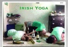 Irish Yoga - http://www.jokideo.com/irish-yoga/