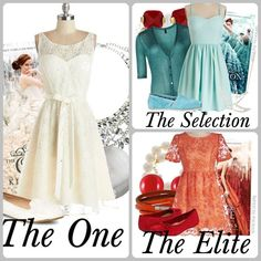 fashion by the book - The selection trilogy (https://www.facebook.com/theselection.hun)