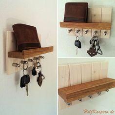 Schlüsselboard Schlüsselbrett Eiche Keyholder Keys Holzkaspero. Im Shop erhätlich