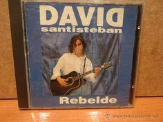DAVID SANTISTEBAN. REBELDE. CD / EMI-ODEON - 1992. 11 TEMAS. CALIDAD LUJO / DIFÍCIL.