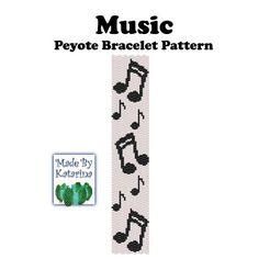 A bracelet pattern made with two drop even peyote stitch using Miyuki delica beads in 2 colors. Bead Loom Patterns, Peyote Patterns, Bracelet Patterns, Beading Patterns, Seed Bead Jewelry, Bead Jewellery, Beading Projects, Beading Tutorials, Diy Bracelet