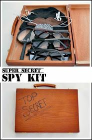 Super Secret Spy Kit. So fun!