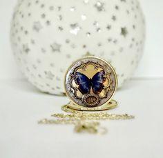 Medallón collar regalo de la novia boda regalo por LilybelleGrace