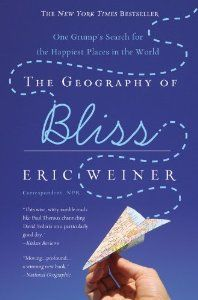 The Geography of Bliss: One Grumps Search for the Happiest Places in the World (By Eric Weiner) On Thriftbooks.com. FREE US shipping on orders over $10. Part foreign affairs discourse, part humor, and part twisted self-help guide, The Geography of Bliss takes the reader from America to Iceland to India in search of happiness, or, in the crabby...