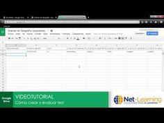 Cómo crear y evaluar tests en Google Drive