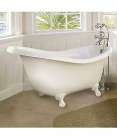 slipper bathtub - Google Search