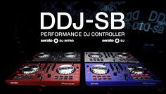 Discover the key features of the Pioneer DJ DDJ-SB, Portable controller for Serato DJ Pro (black) Pioneer Ddj, Serato Dj, Red And Blue, Colors, Black Silver, Hobbies, Fancy, Crafts, Manualidades
