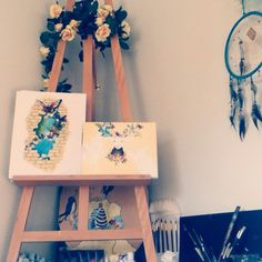 My painting corner :) #art #studio #beautiful #fun #happy #artwork #arttherapy #design #dream #dreamcatcher #fitness #paint #flowers #nature #inspiration #idea