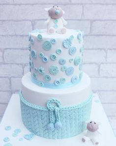 Baby shower cake by Lynette Brandl