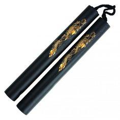 Foam Training Nunchaku with Rope - https://www.martialartsupply.com/product/foam-training-nunchaku-rope/