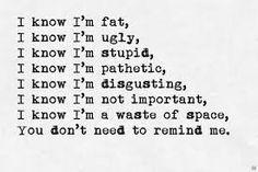Résultats de recherche d'images pour «ugly girl quotes tumblr»