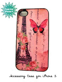 Accessory Case for iPhone 5 Cell Phone Eiffel Tower Sassy Cases Original