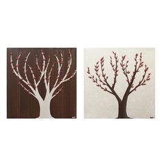 PAINTING: Two Trees