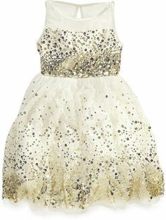 Ruby Rox Girls Dress, Girls Sequin Illusion Dress on shopstyle.com