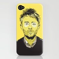 Thom Yorke iPhone 4(S) case.