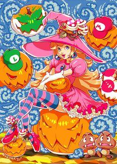 Cala Maria by wysoka on DeviantArt Princess Peach Halloween, Peach Cosplay, Cala Maria, Peach Mario, Character Inspiration, Character Design, Nintendo Princess, Princesa Peach, Princess Daisy