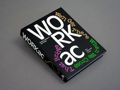 Neil Donnelly's book designs give form and function to the material within them Book Cover Design, Book Design, Graphic Design Typography, Graphic Art, Creative Inspiration, Design Inspiration, Print Magazine, Design Museum, Book Binding