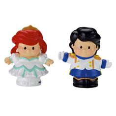 Shop for Little People® Disney Princess Ariel and Prince Eric and buy something new for your little one to explore. Find the perfect Little People toddler toys right here at Fisher-Price.