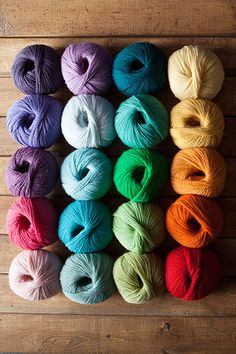 Candy Rainbow Yarn Sampler . Love seeing the flow of the colours. There is such peace and harmony here