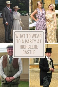 Are you visiting the real life Downton Abbey Castel - Highclere Castle? Dont miss out on this what to wear fashion post! We visited the castle and have LOTS of tips.