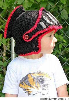 騎士のヘルメット型編み帽子、世界から注文殺到で4か月半待ちに。 | Narinari.com