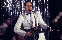 Kevin Spacey • Kevin Spacey does a little strumming as Bobby...