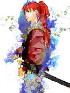 The Twelve Kingdoms Youko fanart Character Inspiration, Character Art, Character Design, Character Ideas, Manga Art, Manga Anime, Anime Art, The Twelve Kingdoms, Arte Popular