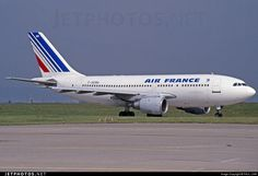 A310-203 (Air France) Air France, Boeing 747 200, Flight Deck, Photo Online, Aviation, Aircraft, Airplanes, Jet, Commercial