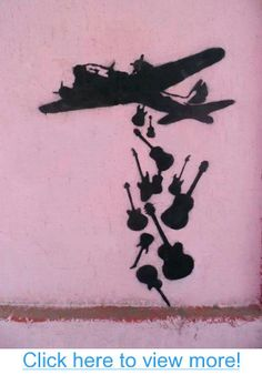 Really like this idea Unknown Artist: Make Music Not War
