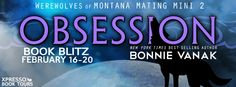 LAST DAY TO ENTER!!! Obsession by Bonnie Vanak ♥ Book Blitz & GIVEAWAY ♥ (Erotic Paranormal Romance)