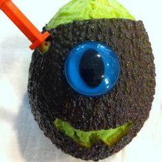 #iloveavocadosforhalloween - Avocado carving!