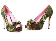 Camo shoes. lol. I dont think I will