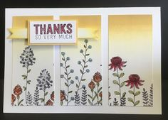 distINKtive STAMPING designs: Flowering Fields Versatile Cards For All Occasions