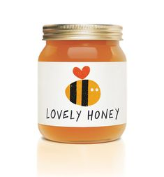 love honey. love the label.