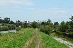 Gorlice - widok znad rzeki Ropy, autor: Bagafarna