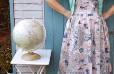 laura ashley map dress - Google Search
