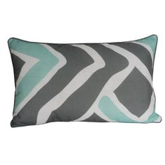 I pinned this Caden Pillow in Harbor Gray from the Thro event at Joss and Main!